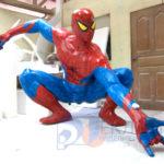Фигура из пенопласта человека паука