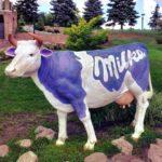 Корова милка из пенопласта