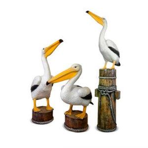 Комплект уличных фигур «Пеликаны»