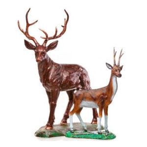Комплект фигур «Два оленя»