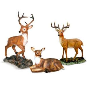 Комплект фигур «Три оленя»