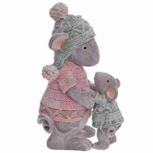 Мама мышь и мышонок